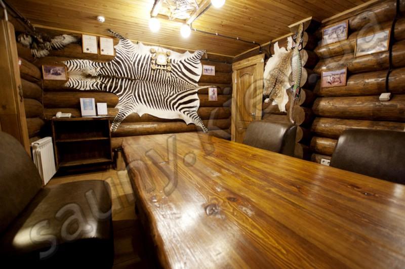 Баня на дровах для семейного отдыха