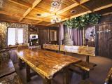 Божественная баня, зал:Баня на дровах