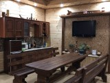 """Банный дворик, зал:""""Баня на дровах"""""""