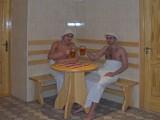 """Сауны гостиничного комплекса """"Червона Калина"""" на Днепре, зал:""""Сауна на дровах"""""""