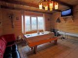 Баня на дровах на озере Радужном, зал:Баня № 1 с бильярдом и бассейном
