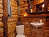 "Кузьмичёвские бани, зал:""Банька на дровах ""Уютная"""""
