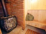 Баня на дровах біля Маєтку, зал:Русская баня на дровах