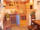 Сервисно-оздоровительный комплекс «Бані є бані», зал:Парна баня в традиційному стилі