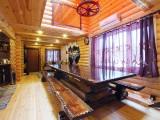 Русская баня в доме на воде, зал:Русская баня на воде
