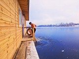 """Спортивно-оздоровительный комплекс """"Боксер"""" - Русские бани на воде, зал:Баня на дровах (средняя)"""