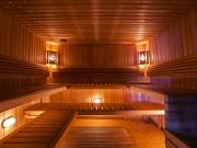 Русская баня на заливе Днепра